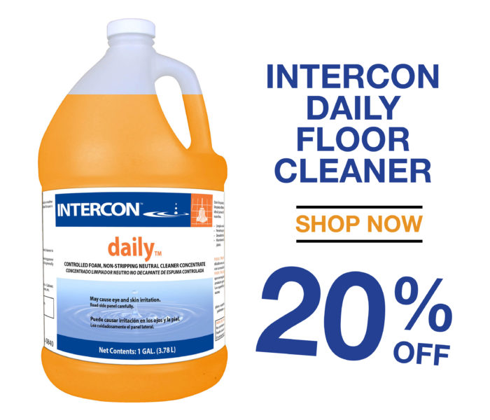 SAVE 20% ON DAILY CONCENTRATE FLOOR CLEANER